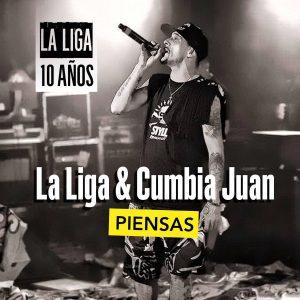 La Liga Ft Cumbia Juan - Piensas En Mi [Septiembre 2017]